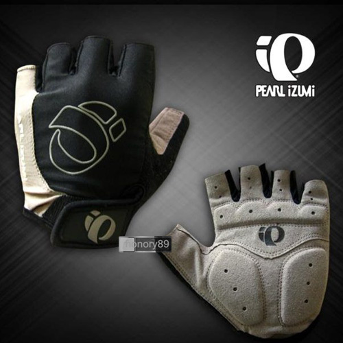 2012-NEW-Cycling-Bike-Bicycle-half-finger-Silicone-Gel-gloves-Size-M-XL-Gray